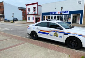The RCMP responded to a report of an armed robbery in Yarmouth on June 8. CARLA ALLEN PHOTO