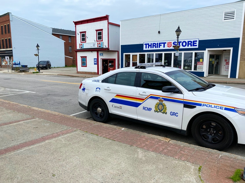 The RCMP responded to a report of an armed robbery in Yarmouth on June 8. CARLA ALLEN PHOTO - Carla Allen