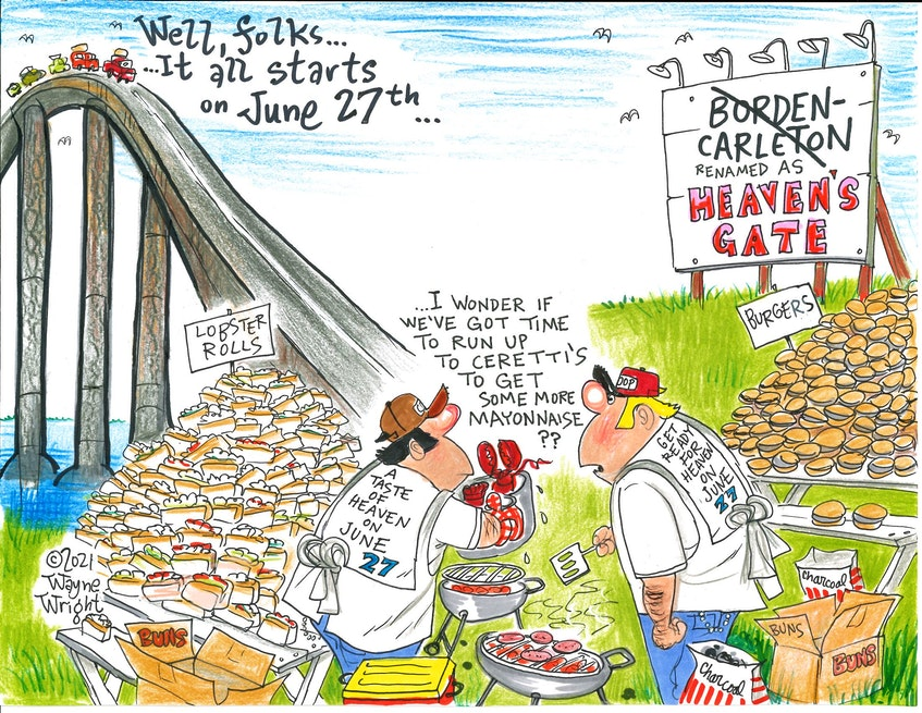 Wayne Wright's editorial cartoon for Wednesday, June 9, 2021. - Wayne Wright