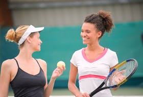 The ball is in your court this summer to try out free group tennis lessons, through Tennis Nova Scotia's Try Tennis! initiative. - Photo Contributed.