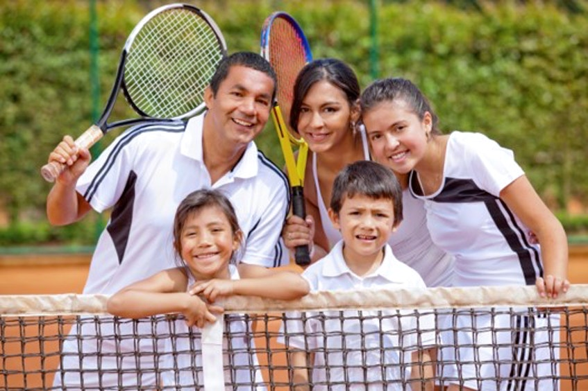 Tennis is the perfect sport for all ages and abilities, whether people have played before or are trying it out for the first time. - Photo Contributed.
