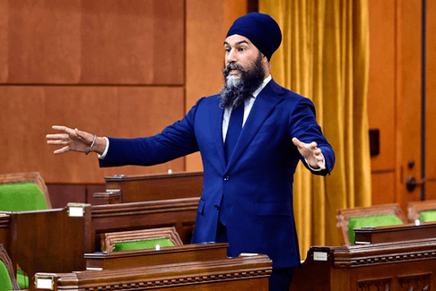 NDP Leader Jagmeet Singh was able to grandstand, in the confidence he will never have to face the consequences of his actions.