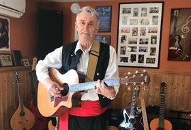 Hank Middleton, a teacher and musician originally from Cape Breton, credits music and the backdrop of historic Lunenburg, where he taught for many years and still resides, to bring to life his lessons.