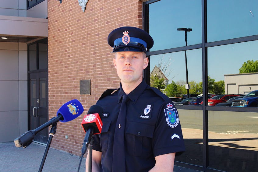 RNC media relations officer Const. James Cadigan. - Andrew Waterman