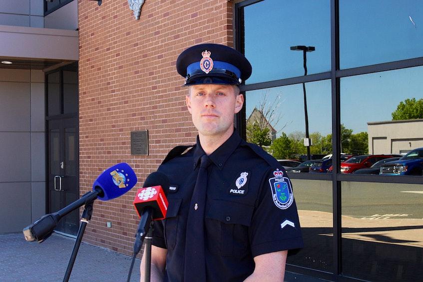 RNC media relations officer Const. James Cadigan. — Andrew Waterman