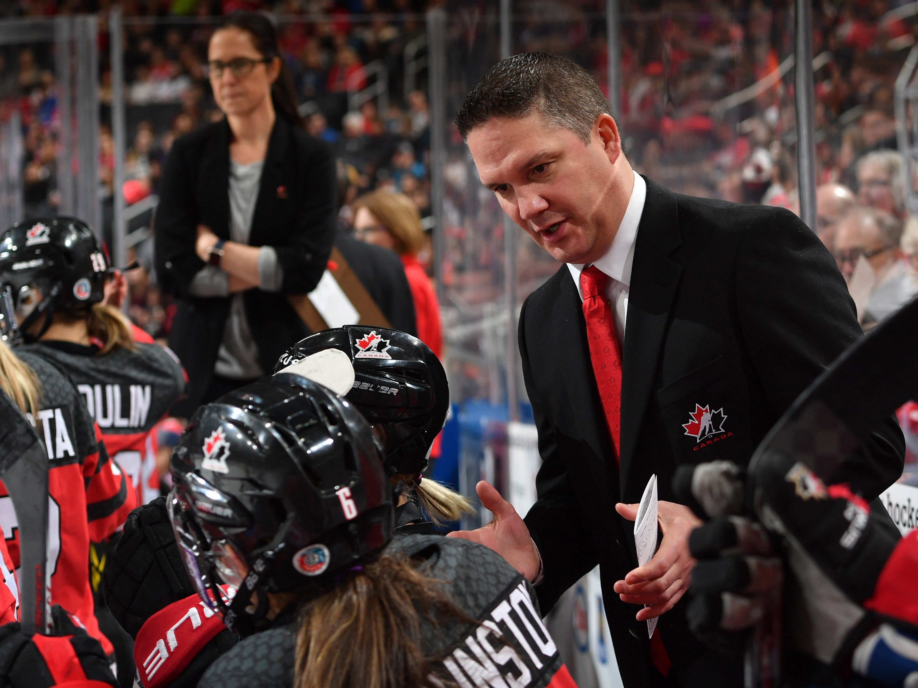 Team Canada Troy Ryan of Spryfield was disappointed that women's world championship was cancelled in Nova Scotia but glad to see it will remain in Canada. The tournament will be held in Calgary in August. - Hockey Canada