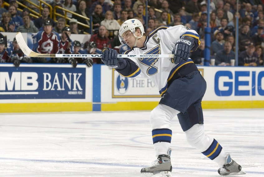 Al MacInnis of Port Hood, who today is a senior advisor with the Blues organization, retired in September 2005, finishing his career with 340 goals, 934 assists and 1,274 points in 1,416 games. He was inducted into the Hockey Hall of Fame in 2007.FILE
