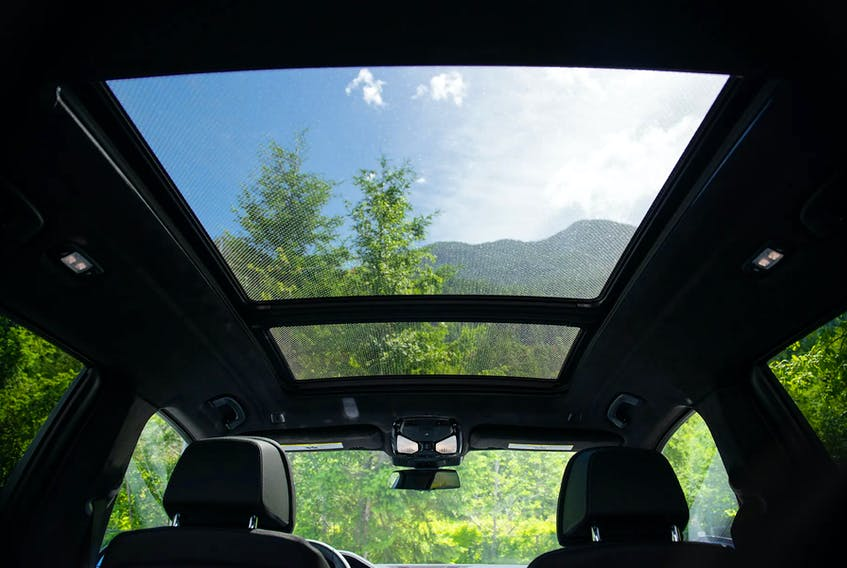 Unlike other glass panels in your vehicle, there's no chance of a price deal when the need for new sunroof glass comes up. Marley Hutchinson/Postmedia News