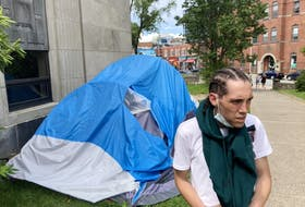 Andrew Smith, who's been homeless during the entire pandemic, says he's worried Halifax Regional Municipality will come after his tent after cracking down on crisis shelters.