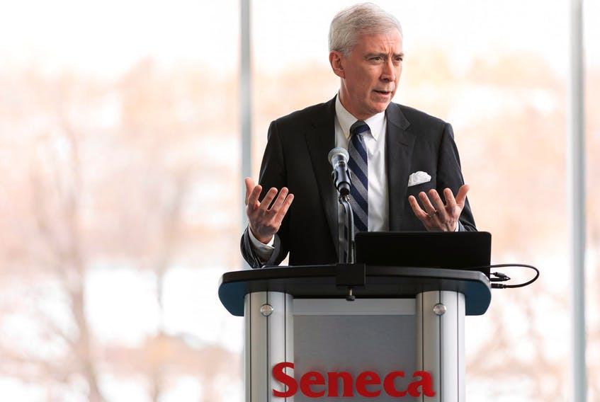 """Seneca College president David Agnew: Ruling that vaccination was mandatory to be on campus """"was just the right thing to do to continue to protect the health and safety of our community."""""""