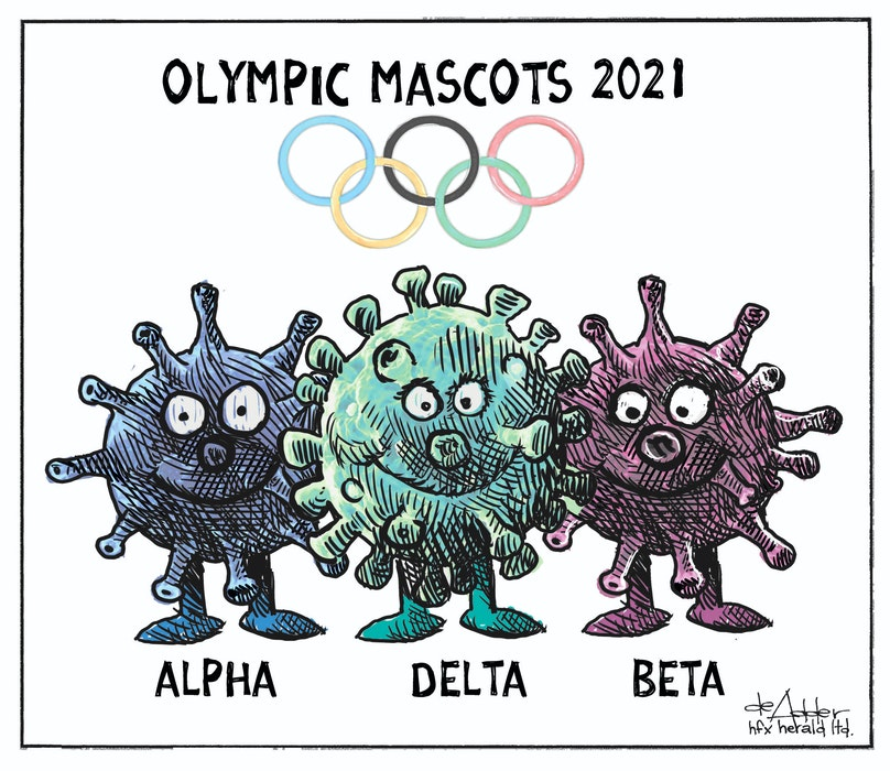 Michael de Adder cartoon for Tuesday, July 12, 2021. - Michael de Adder