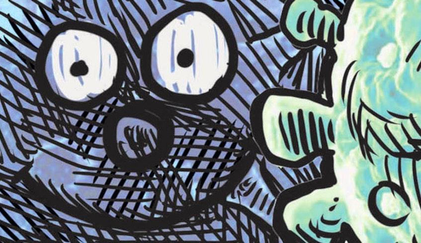 Teaser for July 12 de Adder cartoon. - Michael de Adder