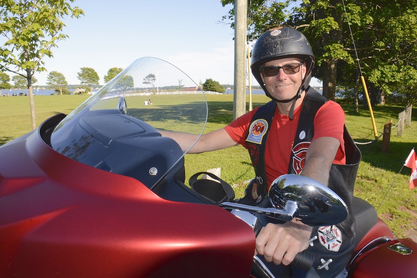 Charlottetown's Scott Ryan joined the Red Knights Motorcycle Club in 2006 as a chartered member of P.E.I. Chapter 1. - Jason Malloy