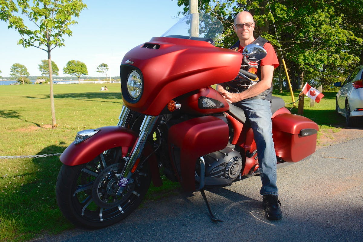 Charlottetown's Scott Ryan joined the Red Knights Motorcycle Club in 2006 as a chartered member of P.E.I. Chapter 1.