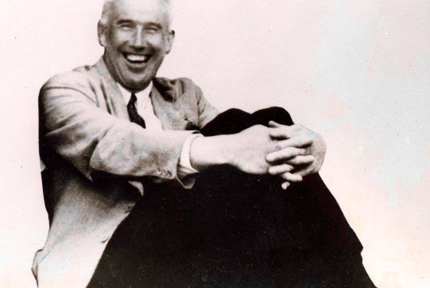 Rev. Oliver Jackson was in a typically jovial mood when this photo was taken in the 1930s.