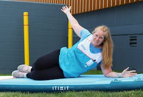 While COVID-19 ended Tina Griggs' hospitality career, it also brought her to Decathlon, where she is now the winter and water sports team leader. She says the job feels like a perfect fit. - Photo Contributed.