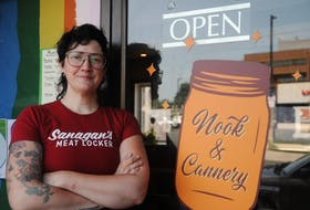 Amy Anthony is the owner and chef at Nook & Cannery, a new restaurant on Harvey Road in St. John's. It's located in the former home of The Big R.