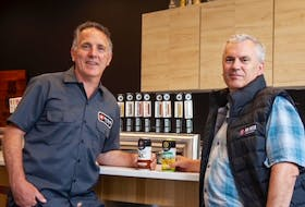 Big Rock CEO Wayne Arsenault, at left, has hired Graham Kendall as the innovative company's new brewmaster.