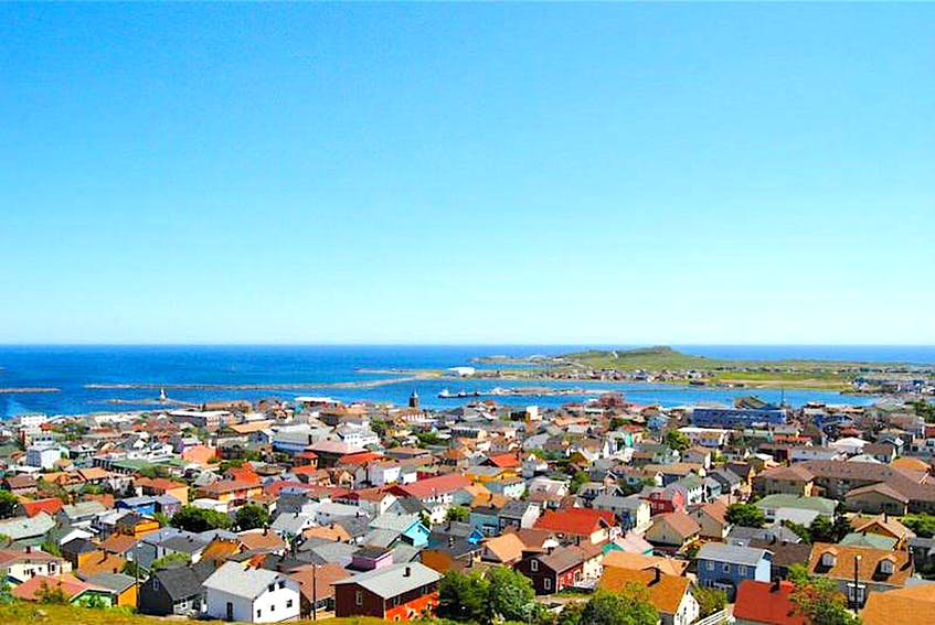 A panoramic view of the community of St-Pierre near Newfoundland and Labrador. — SaltWire Network file/Contributed - Contributed