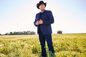 Alberta singer-songwriter Gord Bamford has released a new album, Diamonds in the Whiskey Glass. Photo by Phil Crozier.
