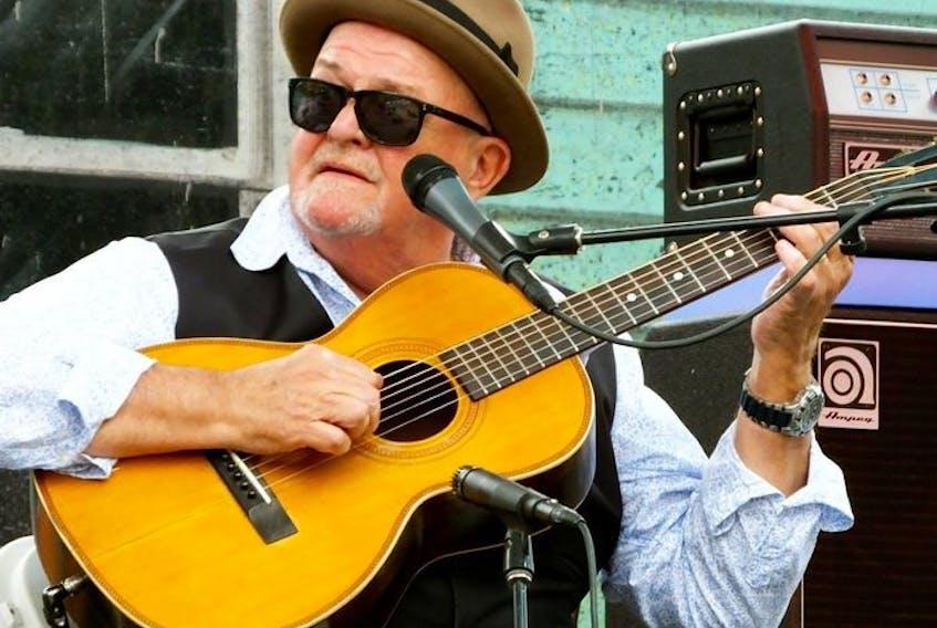 Blues musician Tim Williams. Courtesy, Tim Williams.