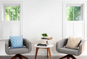 Shutters aren't only practical (ideal for keeping heat in and prying eyes out) they also allow light penetration to be tailored, as required.