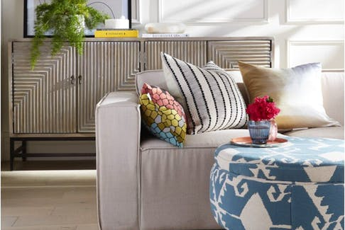 Rooms decorated in light, airy colours have a breezy, cool look.