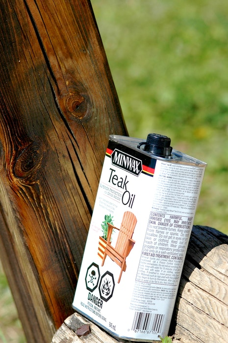 This oil is one option that works for finishing outdoor wood without taking on regular stripping and sanding work for re-finishing. Apply at least two coats initially. then another coat each year. - Steve Maxwell