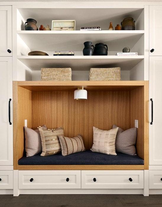 Shelves designed by Tiffany Leigh - PATRICK BILLER
