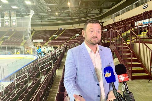 St. John's Sports and Entertainment chair and city councillor Jamie Korab told reporters Thursday at Mile One Centre that the city will have a new basketball franchise, which will play in the American Basketball Association. It replaces the St. John's Edge, which played in the National Basketball League since 2017.