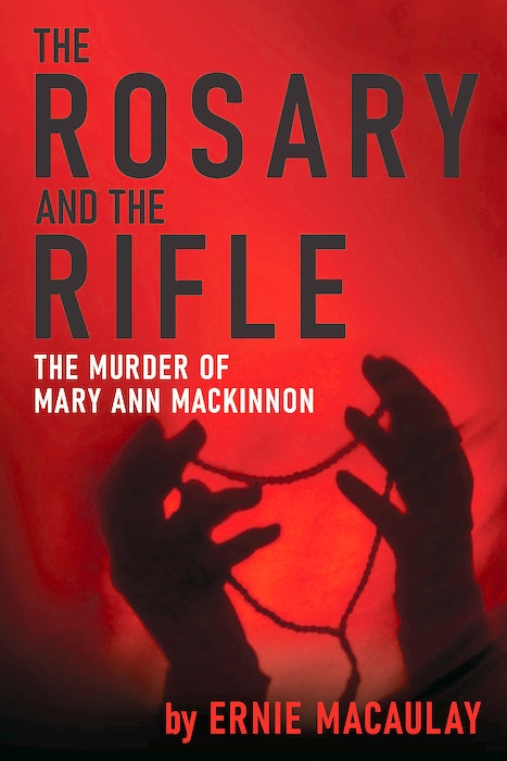 The book cover for The Rosary and the Rifle. - Contributed