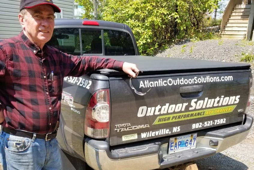 Nova Scotia metalworker Allan Hubley has made a reputation for the off-road ATV trailers and RV accessories he builds. Allan works alone and markets his products online.