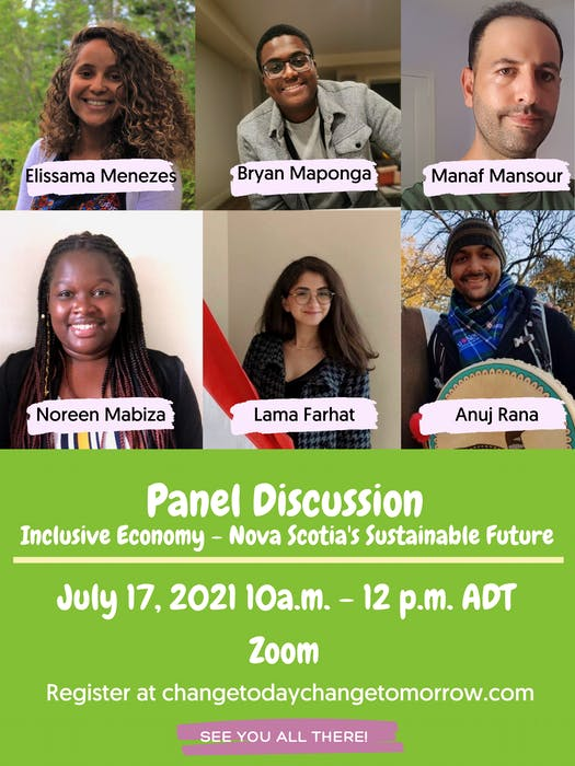 Six newcomers will talk about their experience working in Nova Scotia's green sector on a panel Aoyama is hosting Saturday.