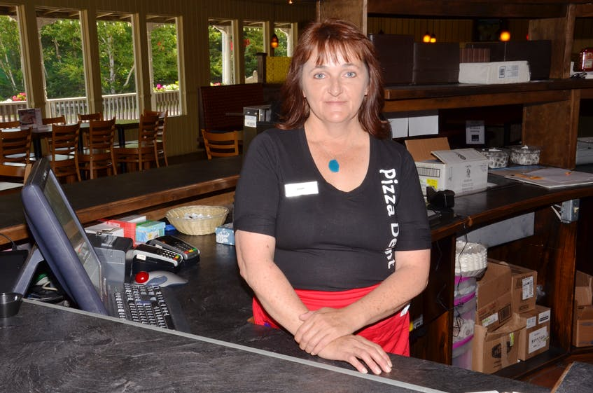 Lisa Mosher, an owner at the Cavendish Pizza Delight, is excited to be able to welcome visitors from across Canada beginning July 18. Mosher said that before COVID-19, the restaurant served customers from all across Canada and the United States during the summer. - Jason Simmonds • The Guardian