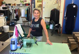 Charlotte Street business owner Judy Gillis said Friday's announcement for the revitalization of the street signals a new era for both businesses and the consumer. CAPE BRETON POST PHOTO.