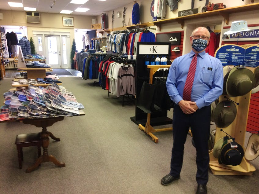 For more than 70 years, Spinners Men's Wear has been a fixture on Charlotte Street and owner Scott MacVicar said Friday he appreciates all the hard work that went into ensuring he revitalization plan can be achieved. CAPE BRETON POST PHOTO