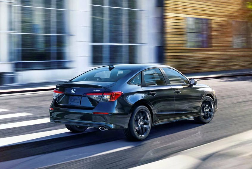 Drive the 2022 Honda Civic Sedan and you will come away with the sense it has grown up.  Sport Handout/via Honda