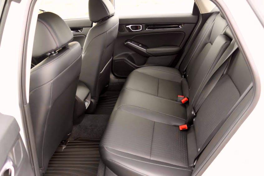 The 2022 Honda Civic Sedan's interior is roomier. Postmedia News