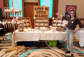 Barbara Pinto of Mama B's Spice Blends one of nine participating businesses in RDÉE P.E.I.'s virtual spring sales mission.
