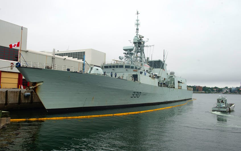 HMCS Halifax returned home as scheduled on Monday, July 19, 2021, however, a crew member tested positive for COVID-19 prior to arrival. - Ryan Taplin