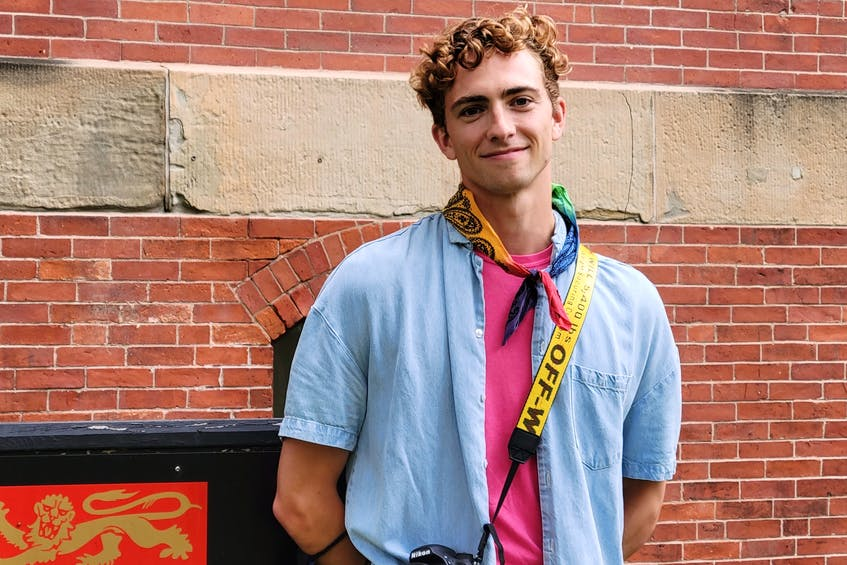 Colton Curtis is the official Pride Week photographer. - Logan MacLean