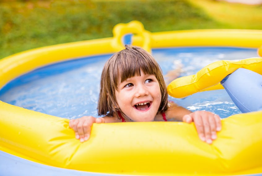 Opting to use a kiddie pool for summer fun instead of running through a sprinkler can conserve a lot of water - a good move for both the environment and your pocketbook. - Storyblocks