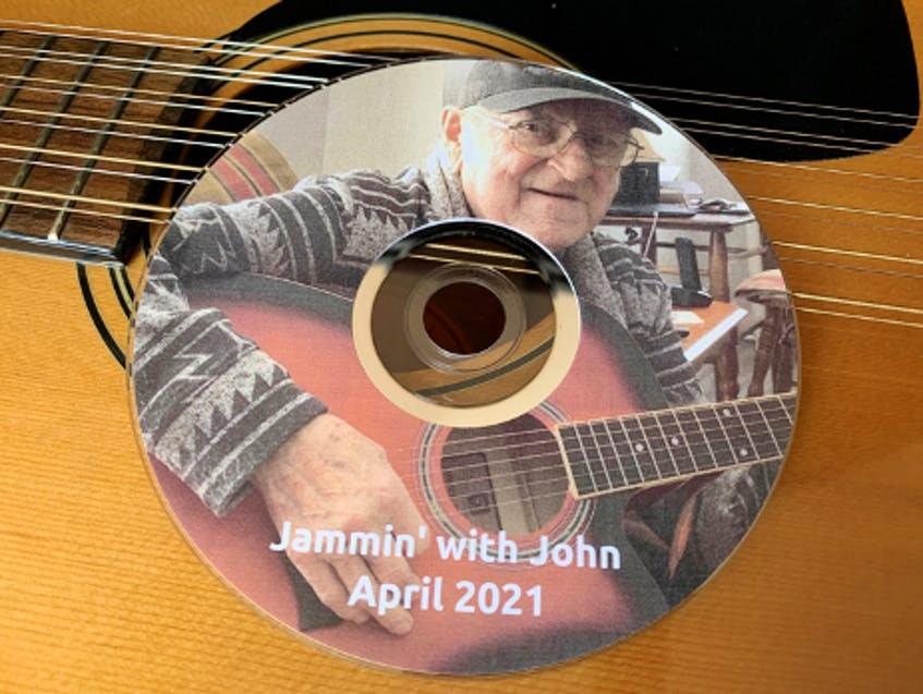 This is John Steele's CD that honours the styles and songs of his favourite artists.