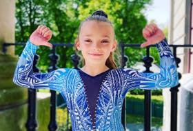 Kalya Piercey of Cygnus Gymnastics in St. John's is a national all-around gymnastics champion in the novice 11-13 age group category. — Cygnus Gymnastics
