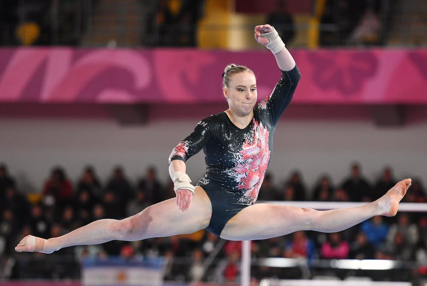 Halifax's Ellie Black will compete in her third Olympics later this month in Japan. - GymCan/Amy Sanderson