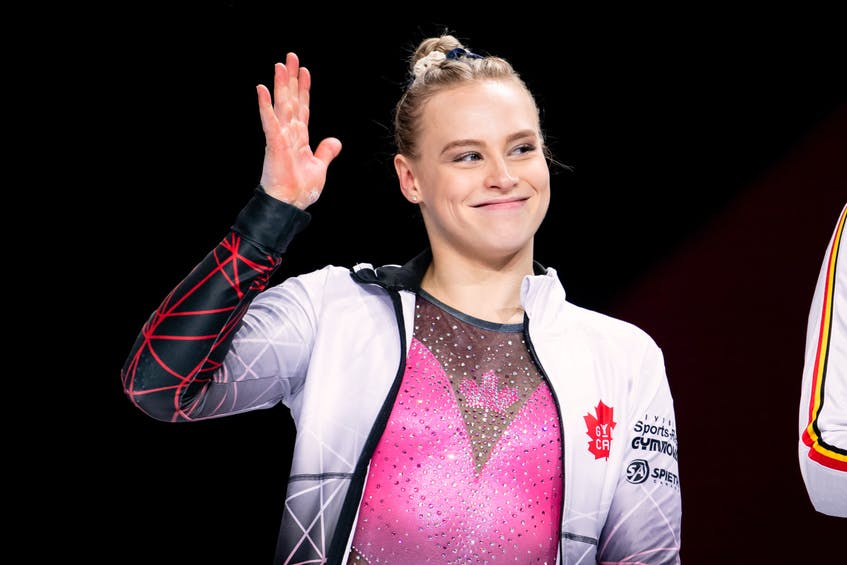 Halifax's Ellie Black is the most decorated female gymnast in Canadian history. - GymCan/John Cheng - Contributed
