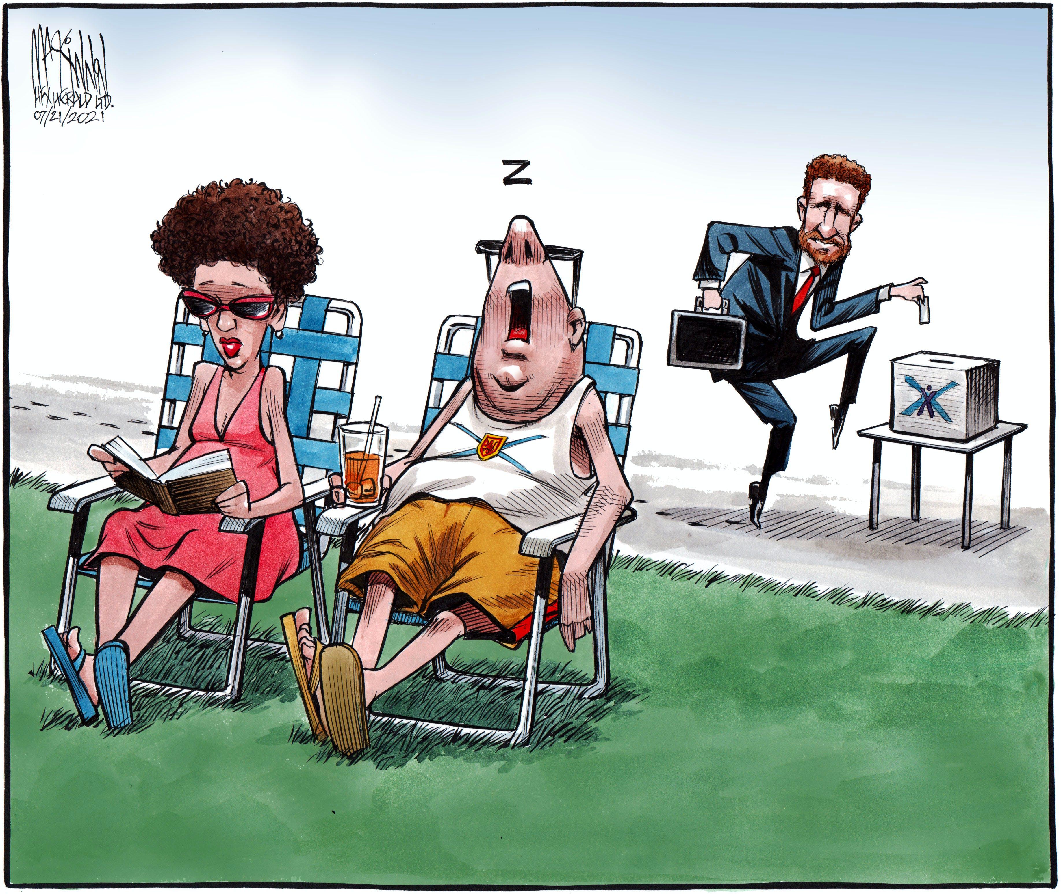 Bruce MacKinnon's cartoon for July 21, 2021.