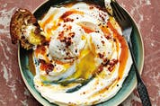 Eggs with yogurt and chili butter from Ripe Figs.
