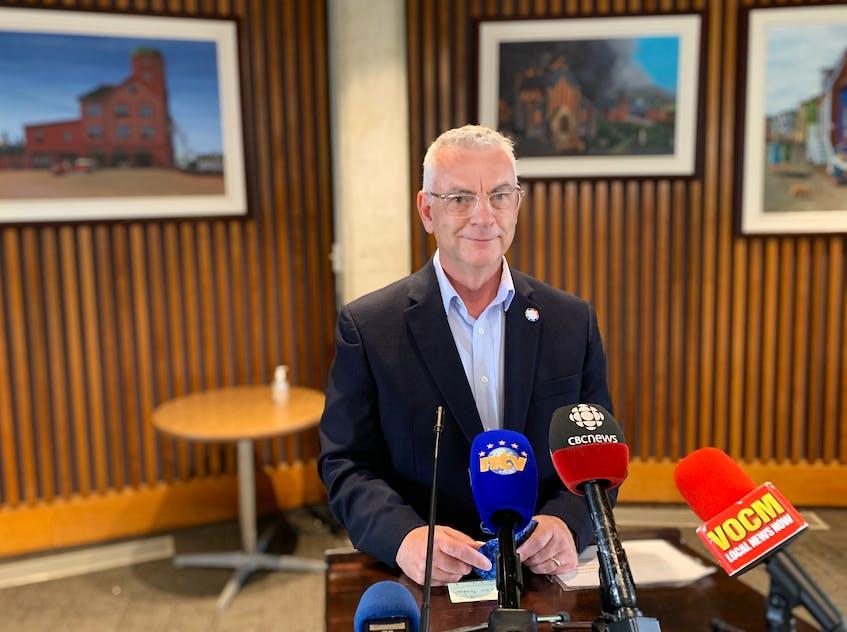 Mayor Danny Breen. - Andrew Waterman