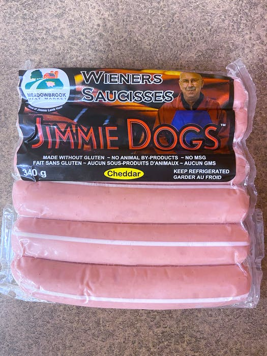 Meadowbrook's Jimmie dogs, like all its products, are made from local ingredients, as the company raises its own animals and sells directly to customers at two farmers' market locations as well as through wholesale. - Saltwire network